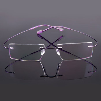 Gmei Optical Rimless Glasses  4