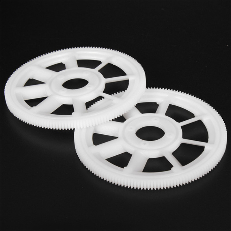 Brand New 2pcs 150T Main Drive Gears White TL1219-01 For RC Helicopter Parts