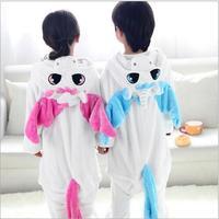 El niño Embroma el Animal Onesie Unicornio Pijamas Para Niños de Halloween Cosplay Para Niñas niños Pijama Infantil Menino