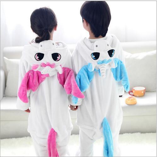 Niño Animal Onesie Unicornio Pijamas Para Niños de Halloween Cosplay Para Niñas niños Pijama Infantil Menino