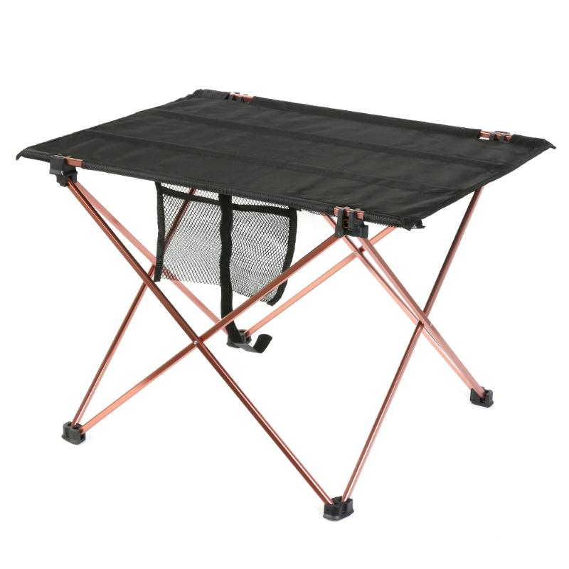 2017 Ultralight Oxford Leisure Folding Tables Portable Camping Table Outdoor Black Aluminium Alloy Folding Picnic Table outdoor folding portable camping dining table beach tables