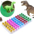 60pcs/lot Novel Water Hatching Inflation Dinosaur Egg Watercolor Cracks Grow Egg Educational Toys Interesting Gift 51