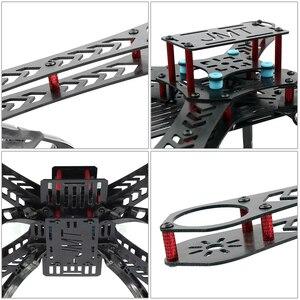 Image 4 - Jmt Volledige Kit Diy Gps Drone Rc Glasvezel Frame Multicopter Fpv APM2.8 1400KV Motor 30A Esc Flysky 2.4GFS I6 zender