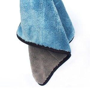 45*38 см супер абсорбирующее полотенце из микрофибры для мытья автомобиля ткань для чистки автомобиля Большой размер ткань для ухода за автом...