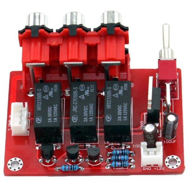 DC12V trzy sposób wejście wejście Audio przełączania wyżywienie YJ00309