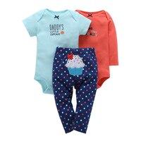 2018 Newborn Baby Girl Clothes Set Summer Children Clothing Baby Girl Outfit Cltohes For Newborn Baby