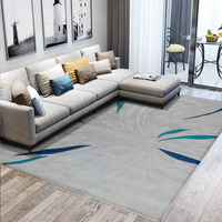 100% Wool Carpets For Living Room Customize Size Large Bedroom Bedside Area Rugs Soft Coffee Table Modern Carpet Decorative