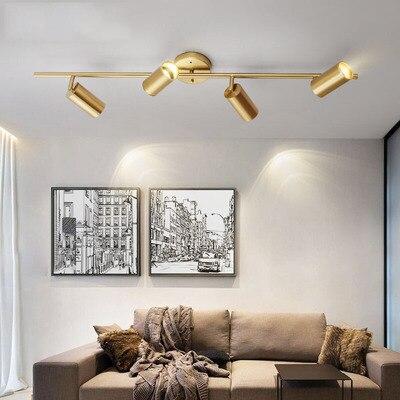 Modern Living Room Ceiling Light Fixture Nordic Rotatable LED Ceiling Lamps For Shop Spot Kitchen Ceiling Lights GU10 Bulb