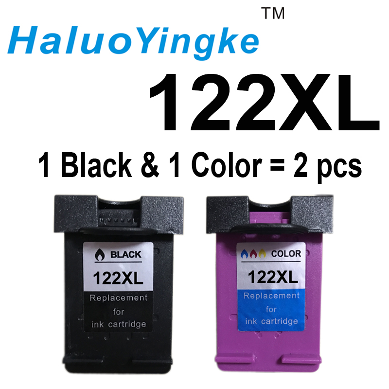 122 XL Ink Cartridge Compatible for HP 122 for Deskjet 1000 1050 2000 2050 2050s 3000 3050A 3052A 3054 1010 1510 2540 new version ink cartridge for hp301 hp 301 hp301xl deskjet 1050 2050 2050s 3050 2150 3150 d1010 1510 2540 4500 printer