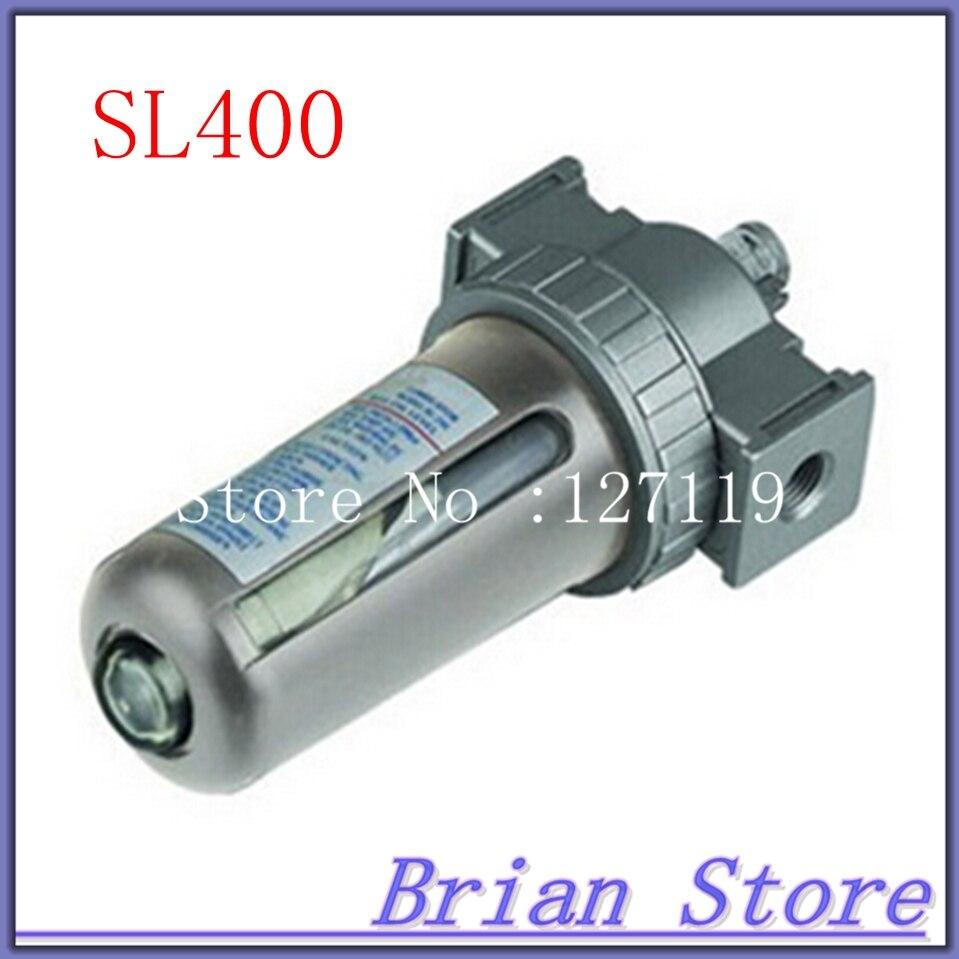 SL-400 AIR OILER PNEUMATIC OIL FOG LUBRICATOR BSP 1/2 air filter regulator al5000 10 g1 air oiler pneumatic oil fog lubricator press