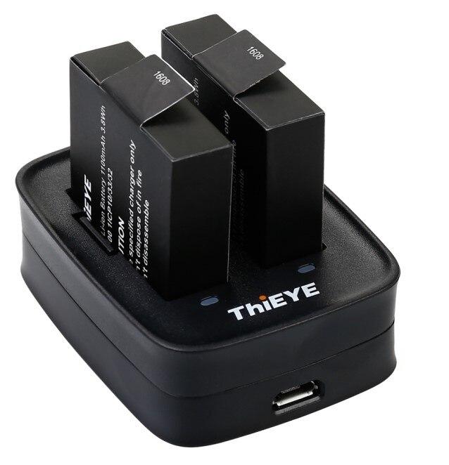 recarregáveis 1100 mah para thieye t5 edge