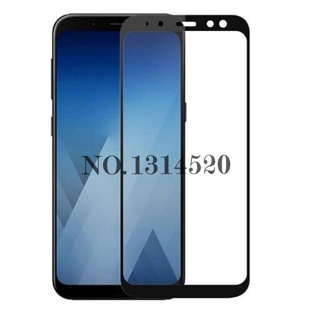 49d67ca27 Para Samsung Galaxy A8 2018 Película Protetora de Vidro Temperado Protetor  de Tela de Vidro Cobertura