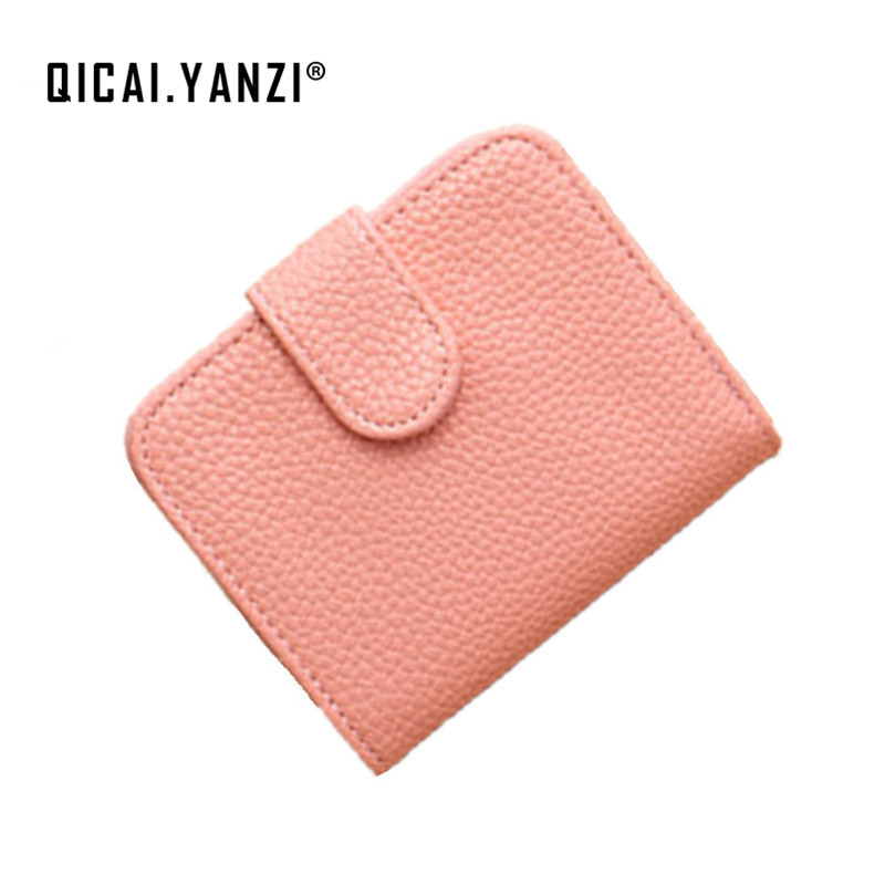 QICAI.YANZI Women Wallets Ladies Bag Korean Zipper Wallet Practical PU Coin Purse Litchi Beautiful Generous Drop Shipping P520 pinup rockabilly special retro atmosphere beautiful generous banquet hoop rabbit ear