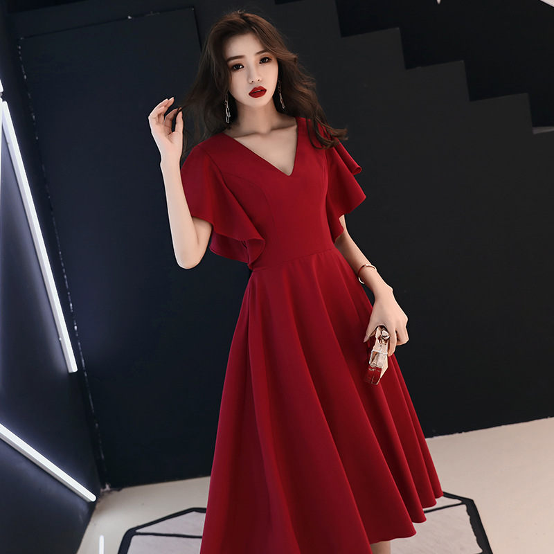 Sexy Chinese Style Party Evening Long Cheongsam Womens Slim Dress Marriage Gown Luxury Wedding Qipao Fashion Clothes Vestido