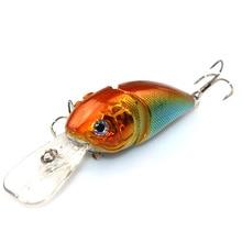1Pcs 8.5cm 14g 2 Segment Fishing Lures Minnow Wobble Crankbait Crank Bait Bass Tackle Hook Bait Wobblers Fishing japan YE-249