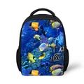 Small Kindergarten Baby Girls Boys School Bags Sea Fish Print Children Schoolbags Kid travel Bags Animal Bolsas Escolares
