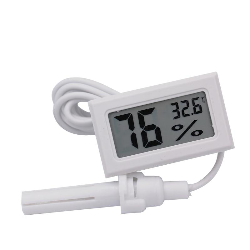 Mini digitální LCD displej Teploměr Vlhkoměr Měřič vlhkosti - Měřicí přístroje - Fotografie 6