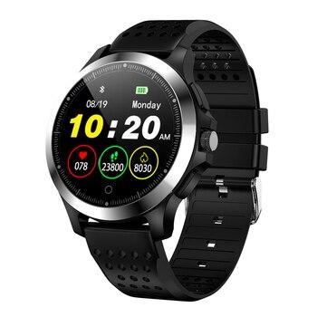W8 ECG PPG Smart Watch Heart Rate Bracelet Sleep Monitor Blood Pressure Fitness Tracker Waterproof Color Screen Multi Sport Band