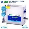 DK sonic 6.5L ультра sonic Jewelry чище ванна с Таймер Нагреватель корзина ультразвук для протезов смотреть цепи очки Авто Запчасти
