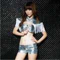 2015 Free shipping summer style sexy dance costume  sexy dance wear sexy stage performing clothing