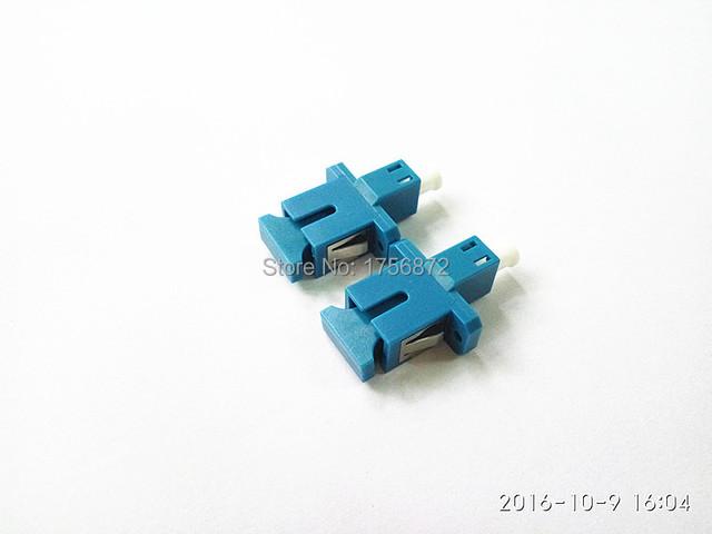 SC Hembra a Adaptador De Fibra Óptica LC Hembra Adaptador Óptico SC-LC Híbrido Plástico