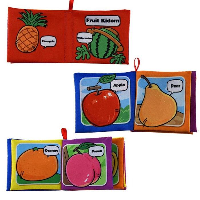wholesale drop shipping New Cloth Book Baby Kids Boys Girls Intelligence Development Educational Toys S23JUN5