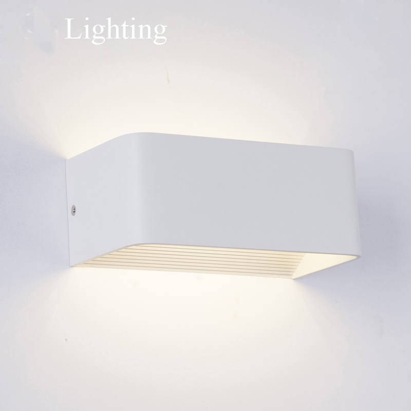 LED Wall Lamps 5W 10W 15W AC85 265V Modern Simple Bedroom Lights Indoor Kitchen Dining Room