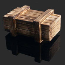 RC Rock Crawler 1/10 Decor Accessories Wooden Box Decorative For 1/10 Scale Models Axial SCX10 D90 Tamiya Wraith RC Car Truck