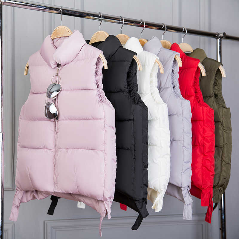 Cheap wholesale 2018 new summer  Hot selling women's fashion casual female nice warm Vest Outerwear L363