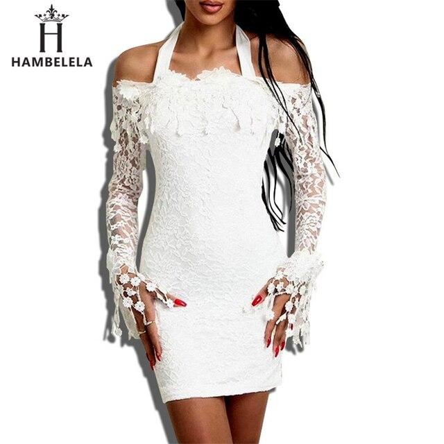 e12086442f479 Satılık HAMBELELA Sonbahar Kış Vintage Dantel Elbiseler Kapalı Omuz ...