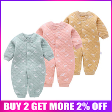 BibiCola newborn kids rompers autumn spring cotton outfits for baby clo
