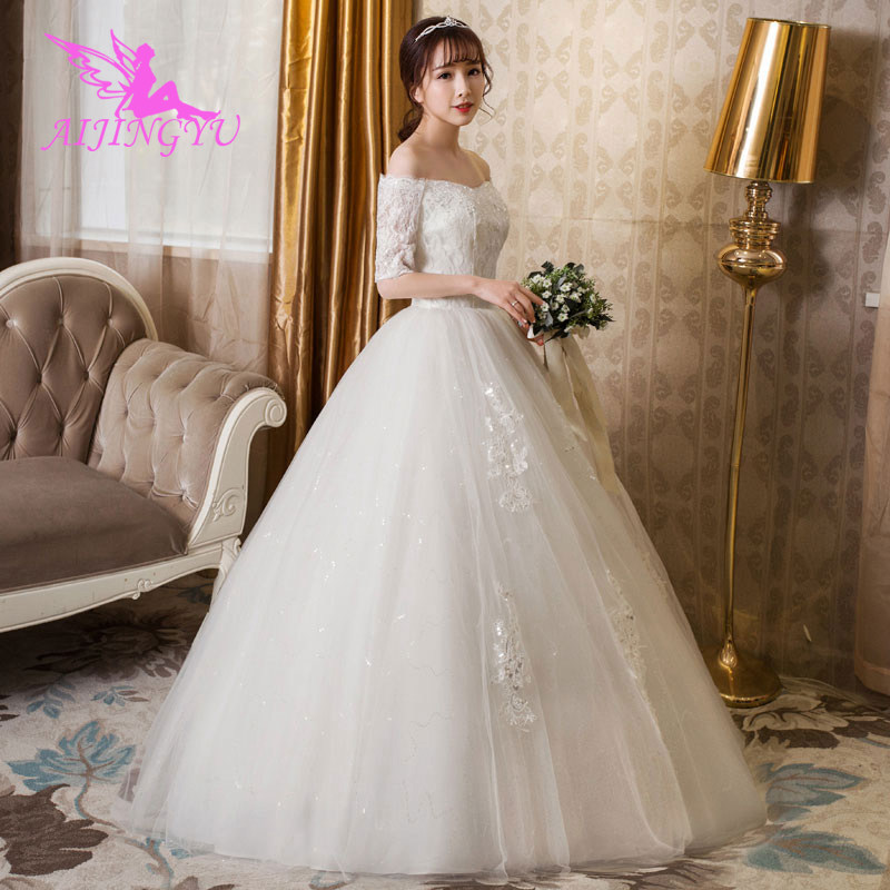 AIJINGYU dresses long gowns ever pretty wedding party dress WU166