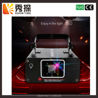 Show Time Mini RGB Full Color Scane Laser Stage Lighting Scanner KTV DJ Dance wedding Party Show Projector Line Lights