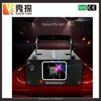 Show Time Mini RGB Full Color Scane Laser Stage Lighting Scanner KTV DJ Dance wedding Party Show Projector Line Lights