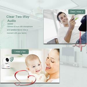 Image 2 - Умная ip камера BESDER Home для безопасности, Wi Fi, 1080P, P2P, двусторонняя аудиосвязь, Радионяня, датчик движения, наклонная мини камера видеонаблюдения, IP