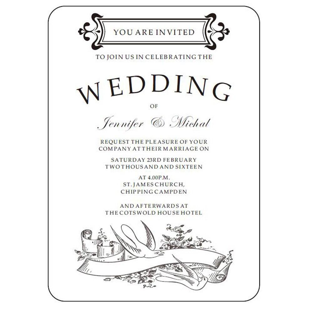 Popular Clear Wedding Invitations-Buy Cheap Clear Wedding ...