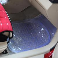 5 Pcs Set Car Floor Mats Clear Rubber Car Mat Parts Interior Decoration Items Gear Stuff