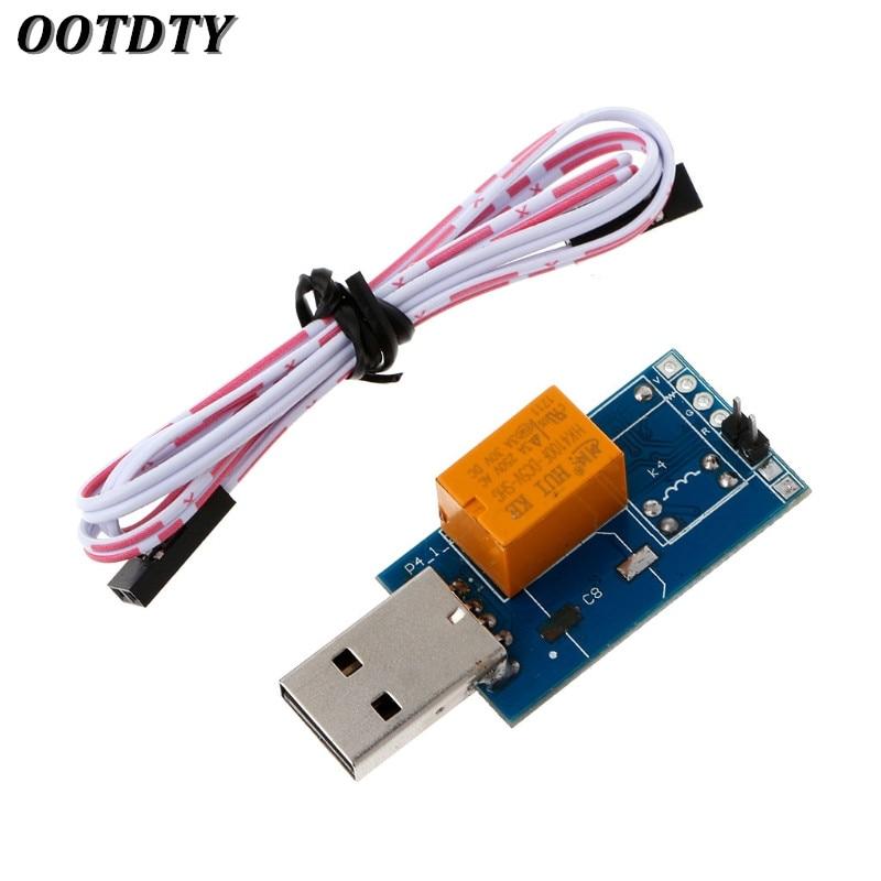 OOTDTY USB Watchdog Card V2.0 Computer Unattended Automatic Reboot Blue Screen Crash / Mining / Game / Server / LTC BTC Miner
