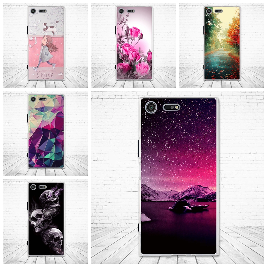 TPU Case For Sony Xperia XZ XR F8331 F8332 Silicone Back Cover for Sony Xperia XZs Soft Phone Shells for Sony Xperia Xz Xr Bags