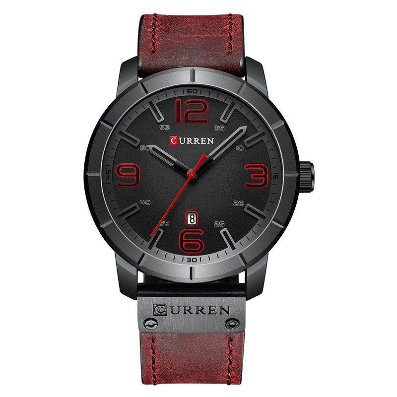 Curren Top Brand Luxury Quartz Men's Watches Quartz Watches Military Watch Waterproof Men's Wristwatch Clock Man Watch 2019(China)