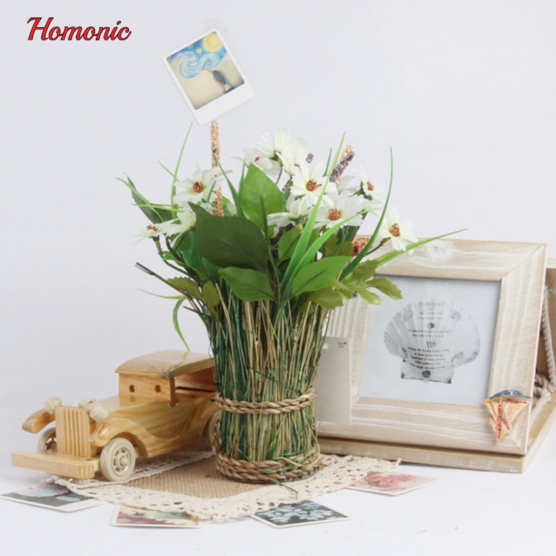 Buy home decor simulation daisy for Artificial plants indoor decoration