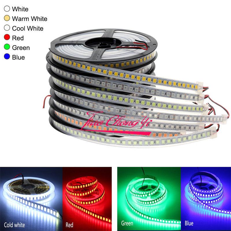 12V 5M 5054 600LED SMD LED Strip Light 120LED/M Flexible Light home decorations
