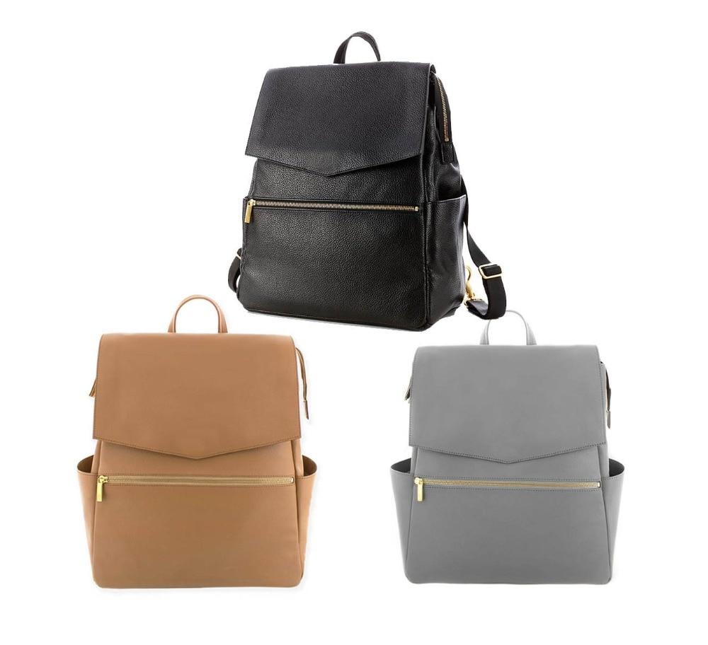 PU Mummy Maternity Nappy Bag Travel Backpack Nursing Diaper Bag Women Fashion maternity bag for baby mommy diaper bag (1)