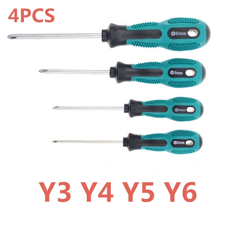 4PCS Y Shape Tri-wing Triangle Screwdriver Tool For Apple Macbook Pro Battery Repair