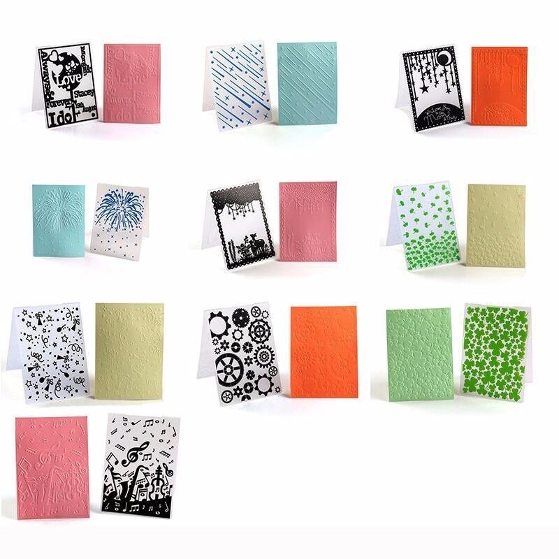 Card Moud Embossing Folders Stencils Template Scrapbooking Crafts Papercraft