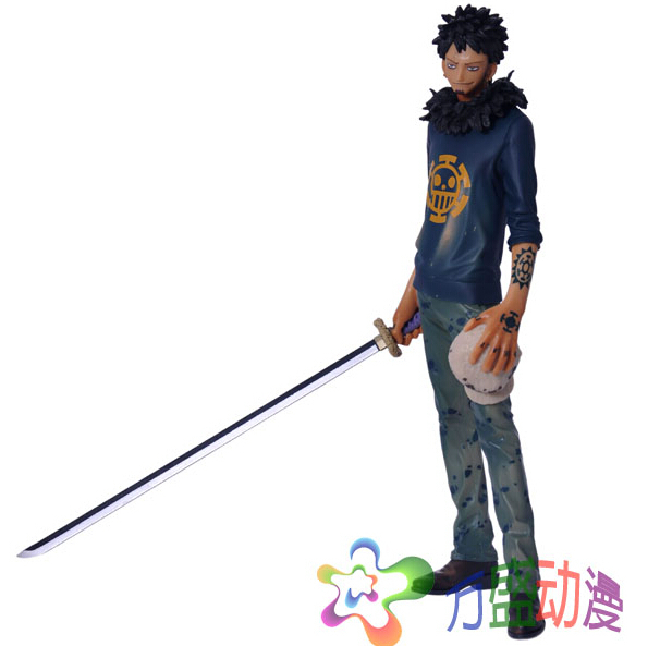 Hot Anime 28cm Trafalgar Law One Piece Action Figures Anime PVC brinquedos Collection Figures toys with Retail box Free Shipping lps pet shop toys rare black little cat blue eyes animal models patrulla canina action figures kids toys gift cat free shipping