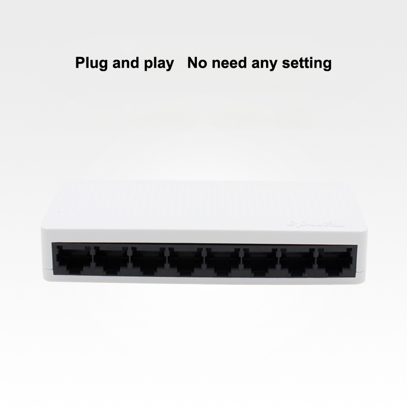 TEND 8 ports switchboard 100Mbps ethernet switch 8 ports network exchanger network cable splitter monitor switch