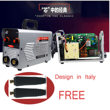 Mini Portable MMA-225 ARC Stick Welders Welding Machines IGBT DC zx7-225 Metal Auto Machine цена