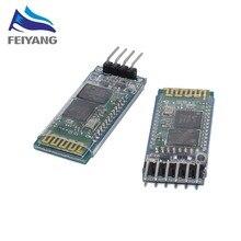 100 قطعة HC 06 HC 05 HC05 HC06 سماعة لاسلكية تعمل بالبلوتوث الإرسال والاستقبال الرقيق وحدة تحويل و محول
