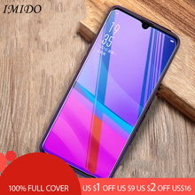 лучшая цена IMIDO Full Cover for OPPO A1 A3 A5 A7 Anti-blue Tempered Glass Anti-Blue Light Screen Protector for OPPO A7X A3S Protective Film